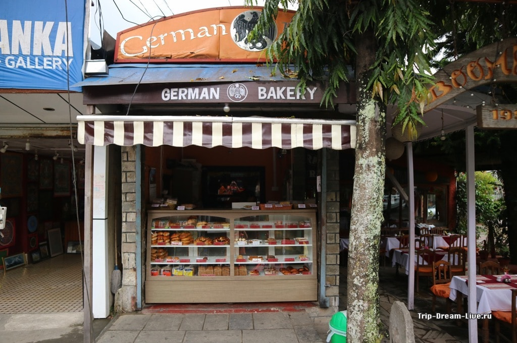 German Bakery в Покхаре